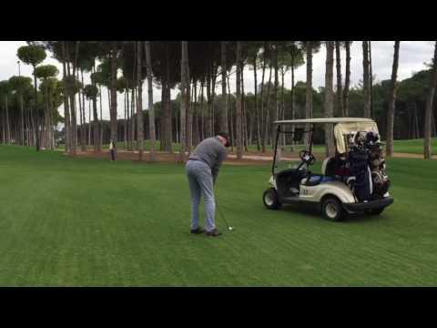 Вспоминая тёплые деньки  на гольф поле.