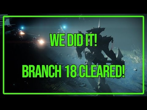 We Did It! 18 Branches Cleared In The Haunted Forest! | Destiny 2
