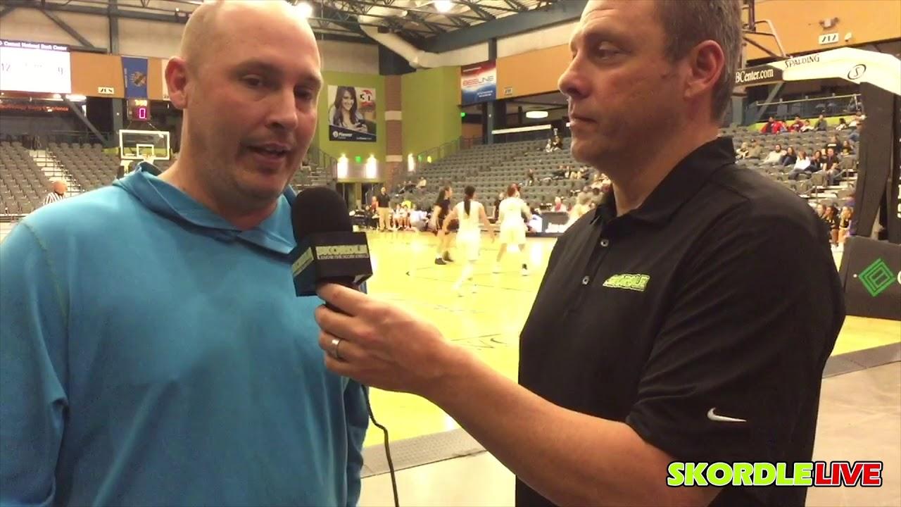 Chisholm Coach Corey Miller