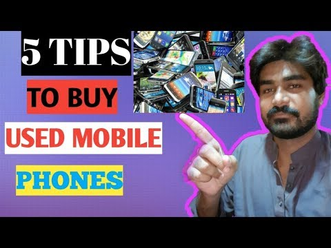 Top Five(5) Secret Tips and Tricks to Buy Used Mobile Phones/urdu,hindi