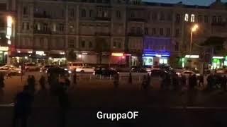 Драка болельщиков в Киеве1