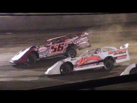 ULMS Super Late Model Heat Three   Eriez Speedway   9-22-17