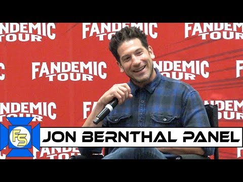 JON BERNTHAL Punisher/TWD Panel – Fandemic Tour Houston 2019