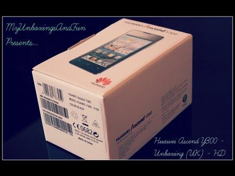 Huawei Ascend Y300 Black - UK Unboxing [HD]