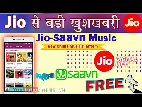 Jio-Saavn Music Integration | Reliance Jio Partnership Saavn for Online Digital Music platform Mp3