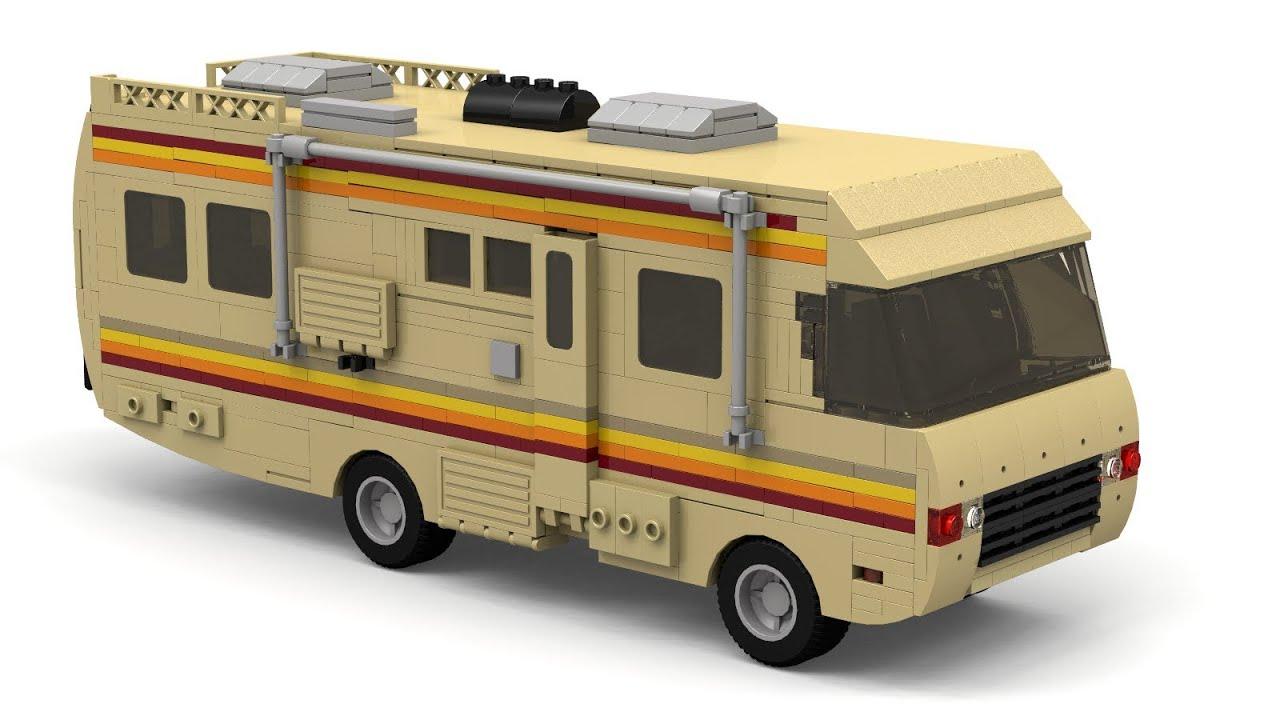 Lego Breaking Bad Rv Instructions Youtube