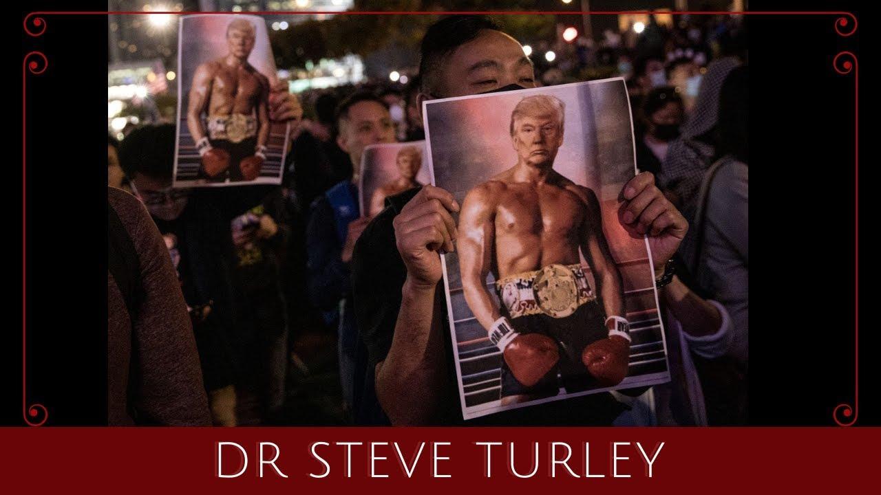 WINNING! Rocky Trump Becomes a Hong Kong Populist Hero!!! Dr. Steve Turley