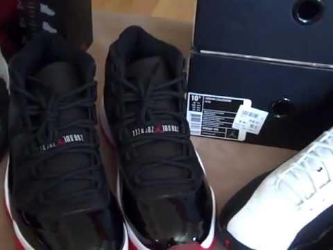 f3d02ff5510b24 Air Jordan CDP Countdown Pack 11 12 (XI XII) 2 Pairs! - YouTube