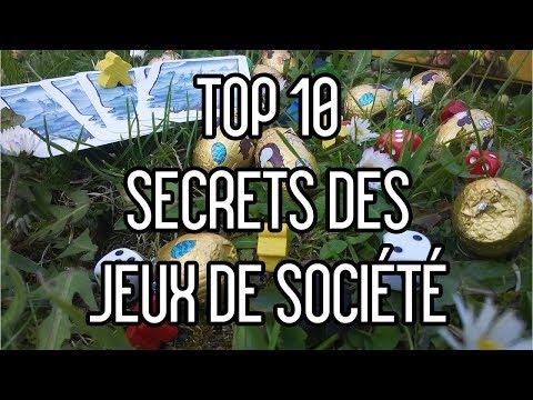 Top 10 - Les secrets des jeux de socit