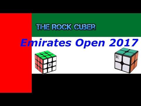 "EMIRATES OPEN 2017 ""VLOG"" AND SOLVES"