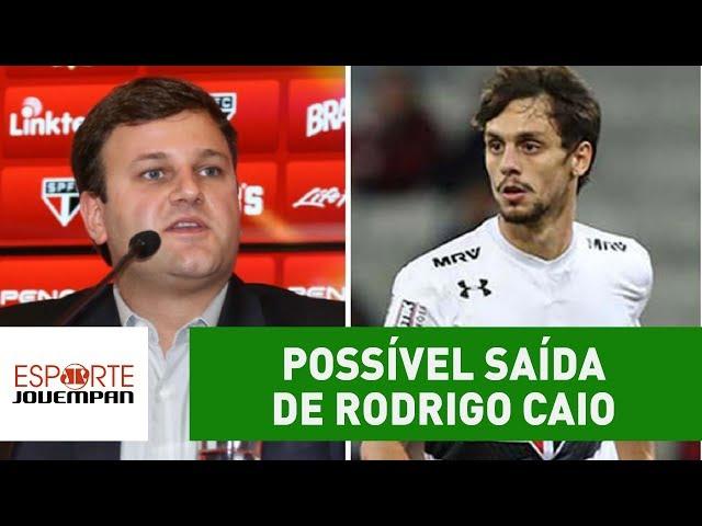 Diretor do São Paulo fala sobre possível saída de Rodrigo Caio