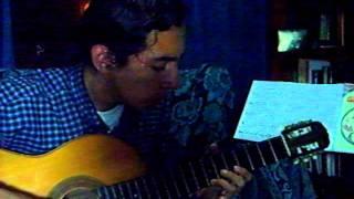 Celeste y Blanco - Héctor Ayala - by Efraín Misari