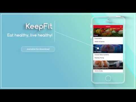 KeepFit App for Android & iOS