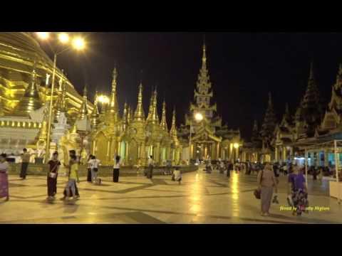 ရန်ကုန် Street Scenes in Yangon, Myanmar 2016