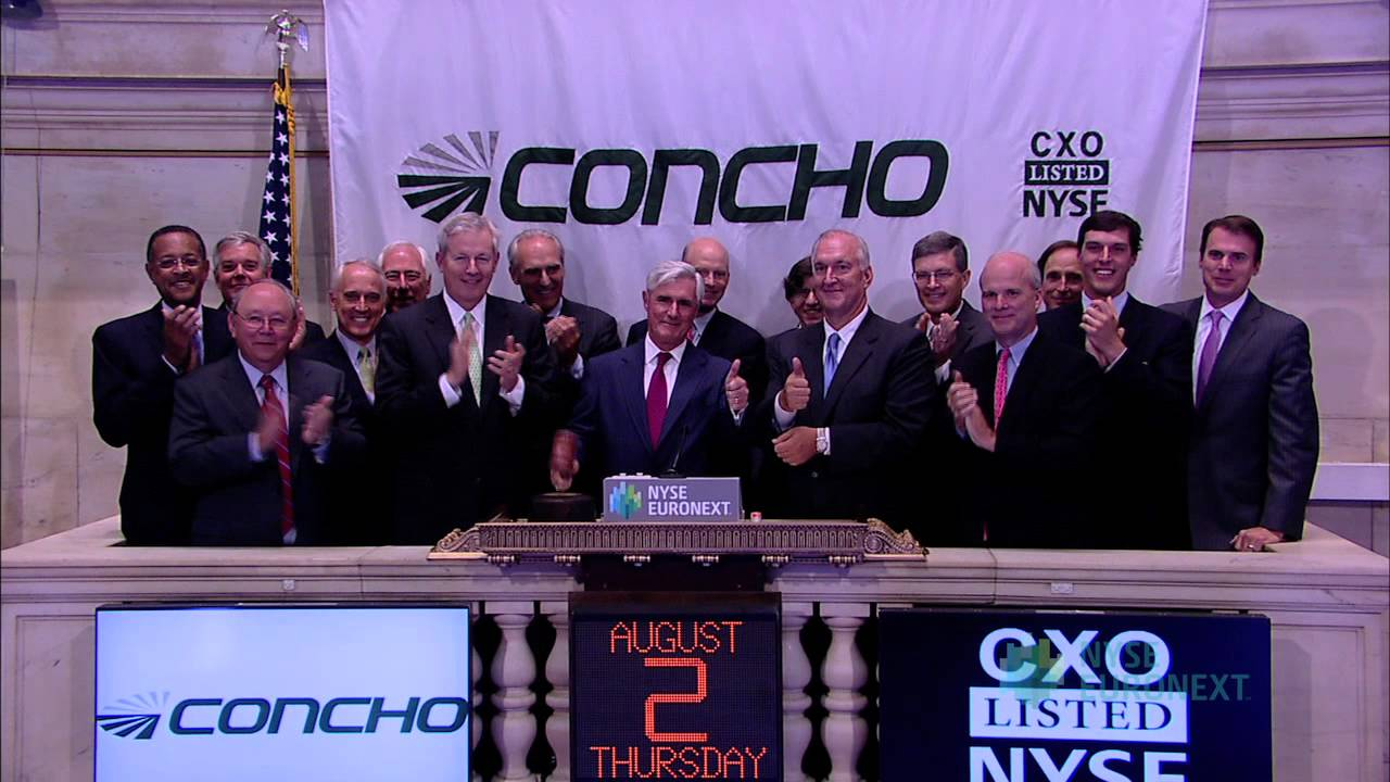 Concho Resources Inc Celebrates Fifth Anniversary Of Listing
