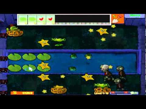 Plants vs zombies (Trồng cây bắn zombie) - Cấp độ 4-10 (Game Việt Hóa)