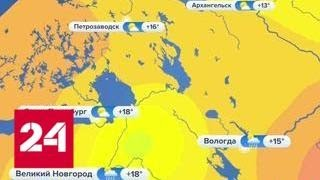 Смотреть видео Москву накрыла гроза: лить будет до утра - Россия 24 онлайн