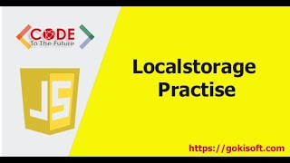 [ khóa học lập trình JS ] Ứng dụng localStorage - Khoá học lập trình JavaScript