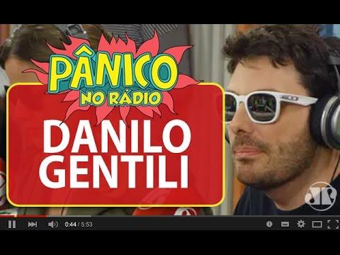 Danilo Gentili Fala Sobre Mal Estar Com Rafinha Bastos   Pânico