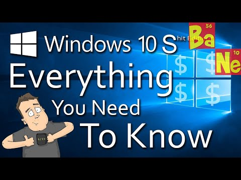 Everything you need to know about Windows 10 S edition