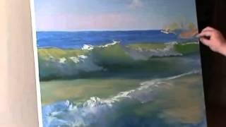 Игорь Сахаров  Видеоурок  Море, прозрачная волна