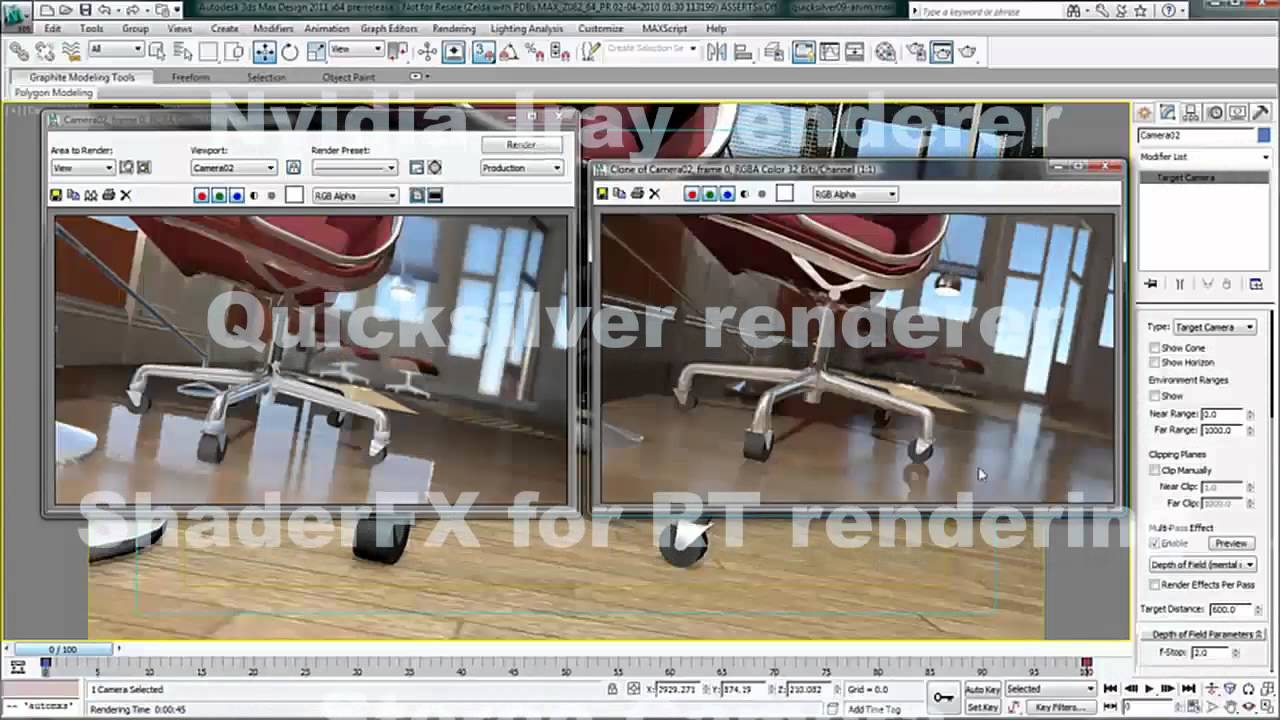 3ds Max 2015: See the Difference - Rendering