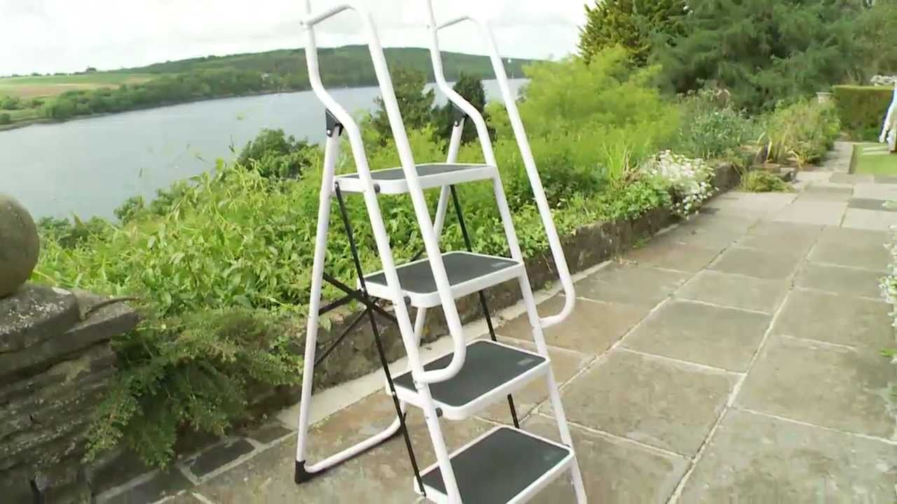 Four Step Safety Ladder Youtube