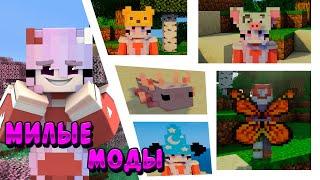 МИЛЫЕ МОДЫ 💜 (1.12.2-1.16.4) 💜 Cute Minecraft Mods