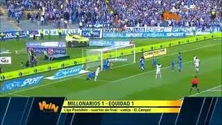 Millonarios vs Equidad (1-1) Cuartos de Final Vuelta Liga Postobón 2014-I