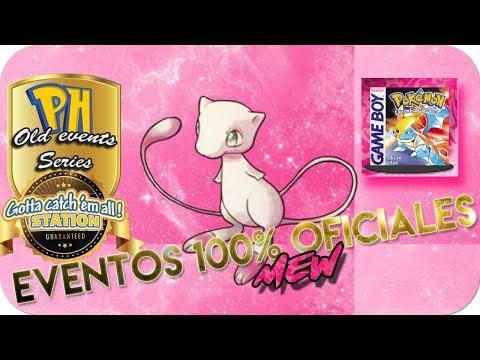 ¡ANTIGUOS EVENTOS DE MEW 100% OFICIALES! / OLD EVENTS SERIES [Pokémon Hispania]