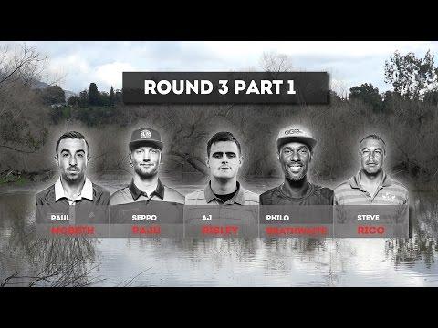 2017 Wintertime Open Round 3 Part 1 - McBeth, Paju, Risley, Brathwaite, Rico