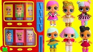 LOL Surprise Dolls Wrong Clothes Lil Sisters Ultra Rare Vending Machine Surprises