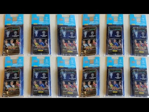 Part 5 UEFA Champions League 2014-2015 Panini Adrenalyn XL 60 Booster Pack Limited Edition Cards Set