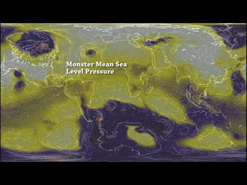 Monster Mean Sea Level Pressure