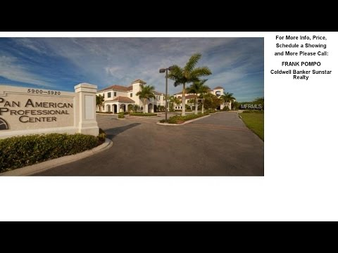 5900 PAN AMERICAN BOULEVARD, NORTH PORT, FL Presented by FRANK POMPO.