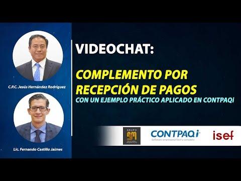 """VIDEOCHAT: """"Complemento por Recepción de Pagos"""""""
