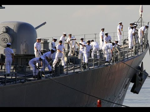 Why Philippine and Japanese vessel hold naval exercises for the JS Amagiri DD 154 in Manila