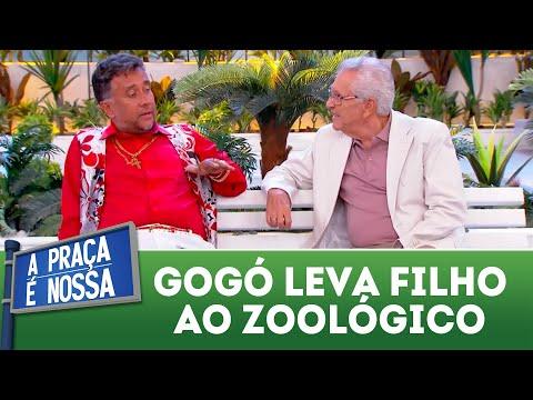 Gogó leva filho ao zoológico | A Praça é Nossa (05/04/18)