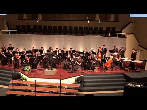 """Revival March"" performed by the Advanced Band of Raleigh Christian Academy-Yoshi Nakamura, Dir."
