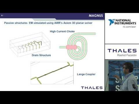 Design Example: Thales UK GaN MMIC