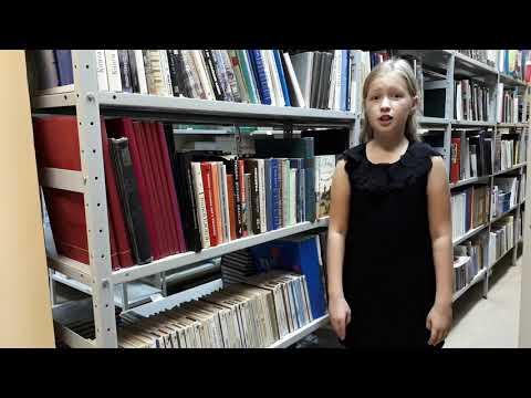 Изображение предпросмотра прочтения – АлинаПопова читает произведение «Русский язык» И.С.Тургенева