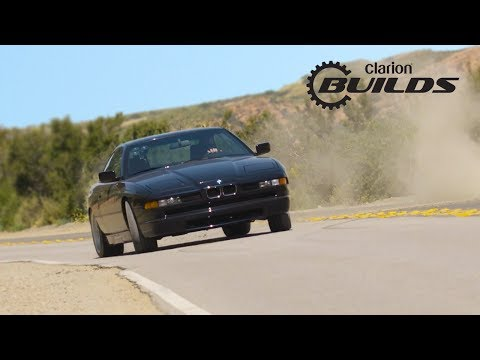 Chris Forsberg takes the Clarion Builds BMW 850Ci on its First Drive