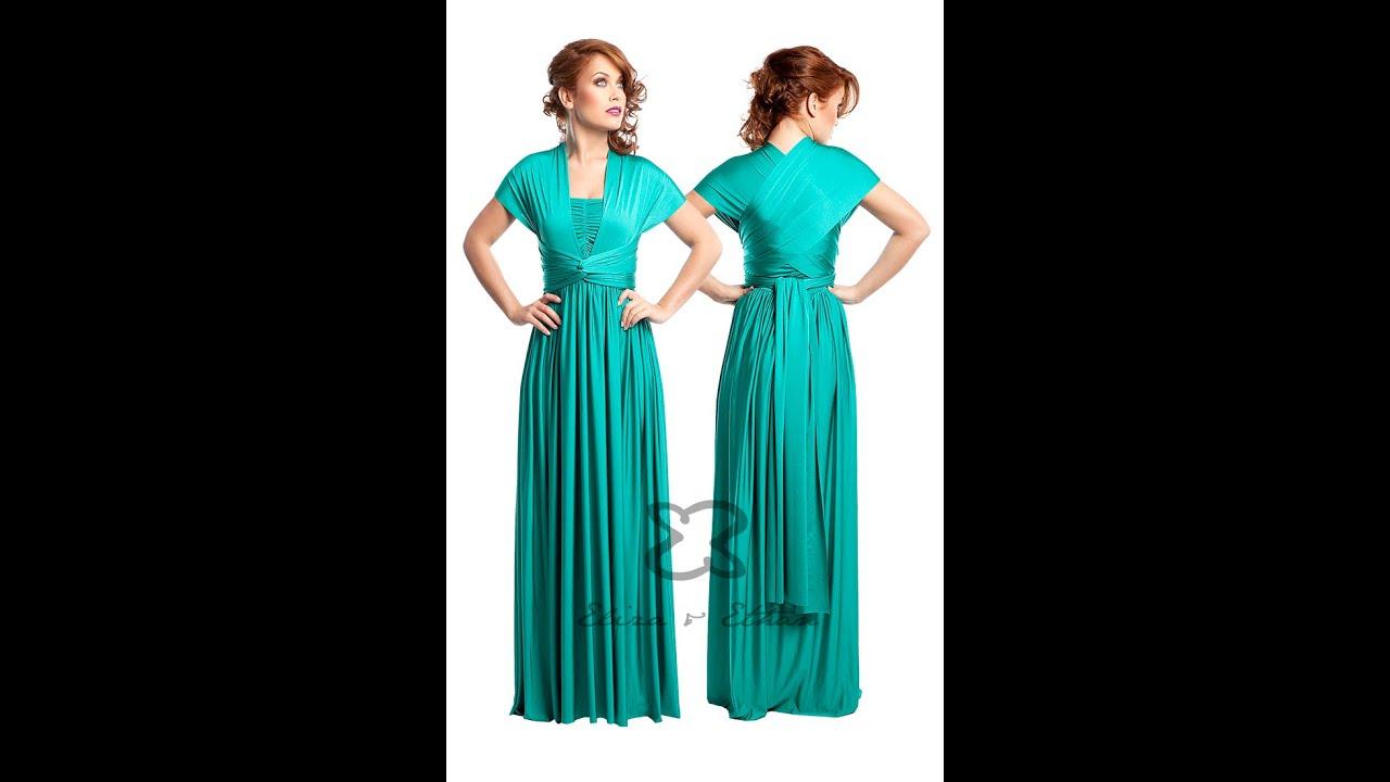 Eliza Amp Ethan Multi Wrap Dress Tutorial Style 9 Youtube