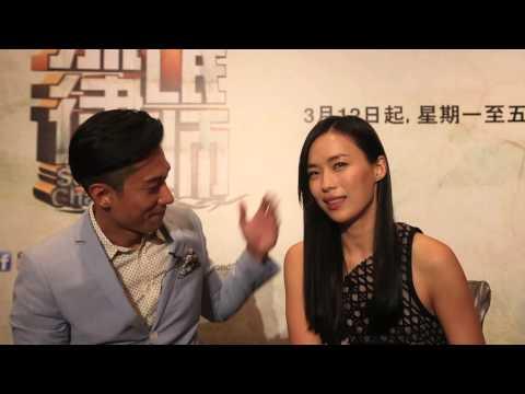 The odd couple: Rebecca Lim and Desmond Tan