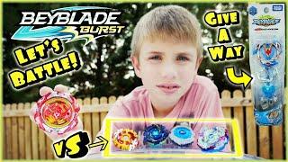 Beyblade Burst Battle! Revive Phoenix vs All Wave 4 Hasbro SwitchStrikes - Winning Valkyrie Giveaway