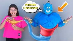 ELENA INCONTRA IL GENIO DELLA LAMPADA!! *esprime 3 desideri*