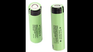 Panasonic 18650B 3400mAh Unprotected Thorough Review And Test These Batteries Pack A Punch