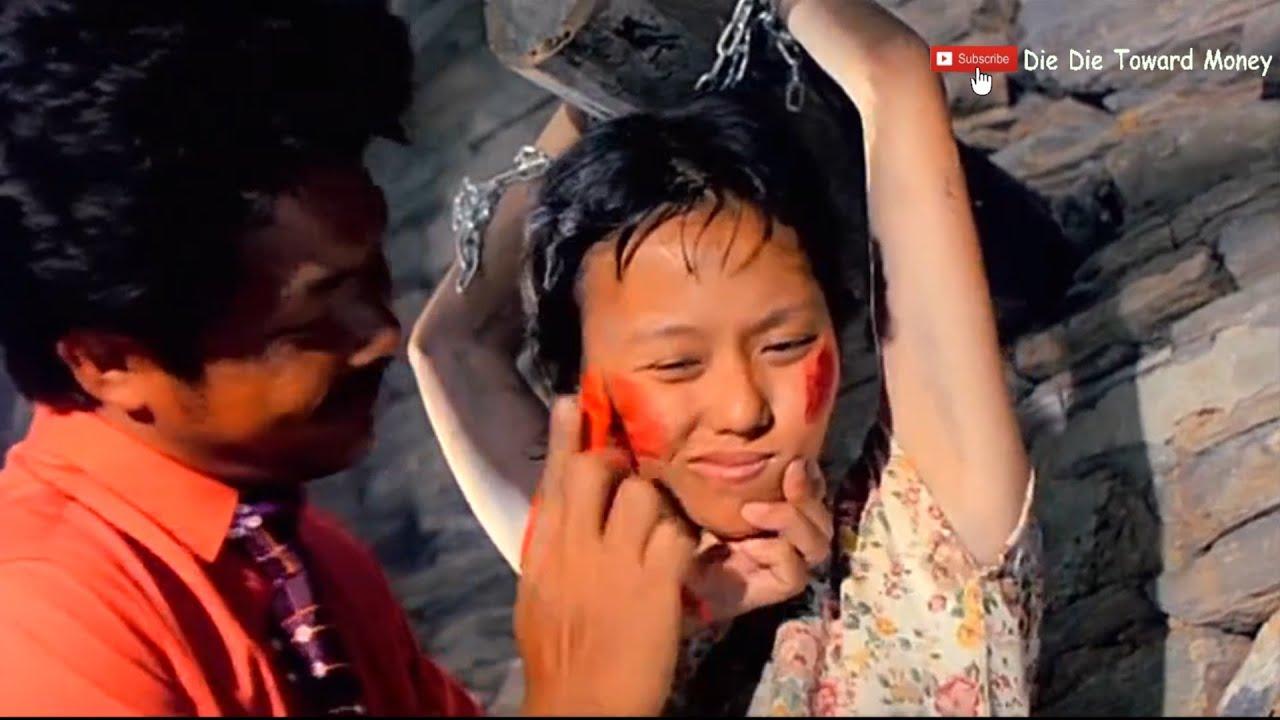 一群女学生来到荒岛被疯子逼婚的电影《生死线》
