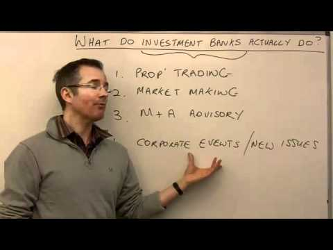 what-do-investment-banks-actually-do?---moneyweek-investment-tutorials