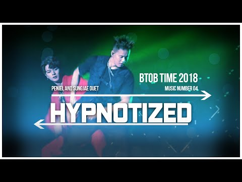 04. BTOB TIME Hypnotized - SungJae and Peniel Duet Live Stage [ENG/SUB]